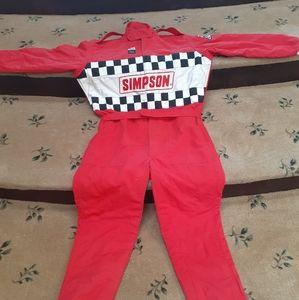 Simpson XL Nomex 4#layer 1piece race suit.